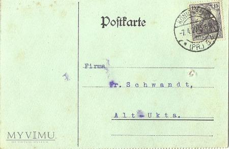 A. Hiller Konigsberg 1920 r.