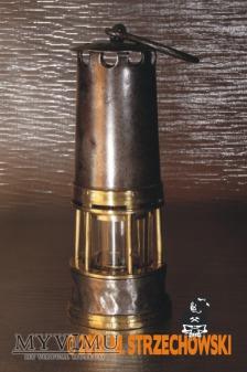 Lampa górnicza olejowa Mathieu Mueseler