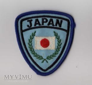 JAPONIA - Naszywka przynależności państwowej