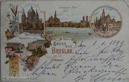 Wrocław - Breslau 1.1899 r