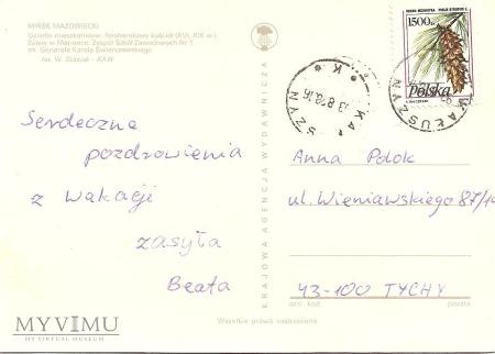 Kartka pocztowa wieloobrazkowa.