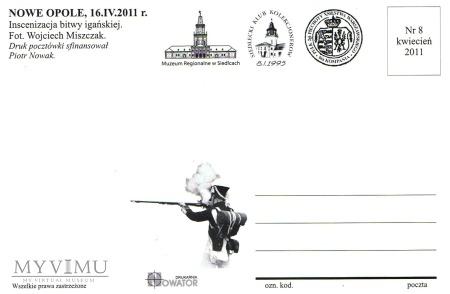 Iganie - 180 rocznica - pocztówka 8