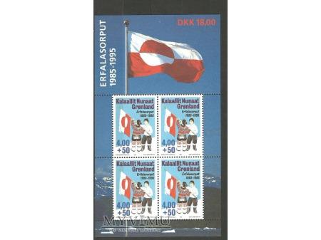 Grenlandzka biało-czerwona.