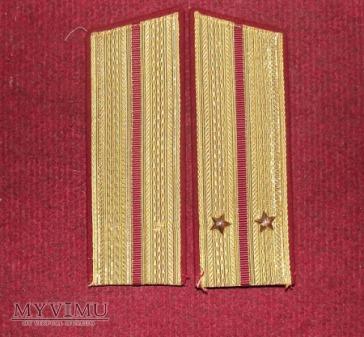 Radzieckie pagony.