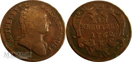 Duże zdjęcie Krajcar 1762 K