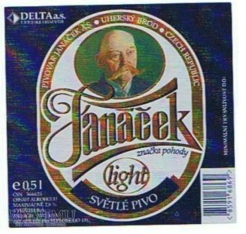 jánáček light světlé pivo