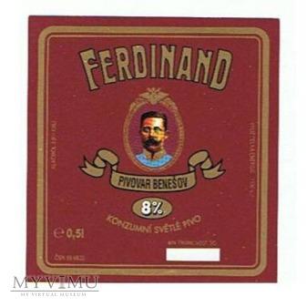 ferdinand 8% konzumní svétlé pivo
