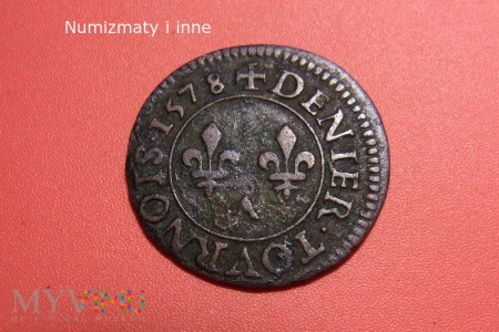 denar turoński Walezjusza