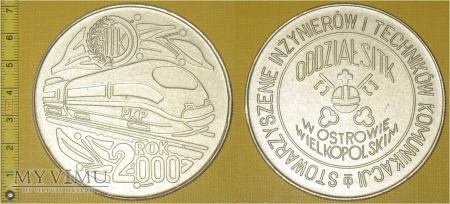 Medal kolejowy - usługowy SITK Ostrów Wlkp.