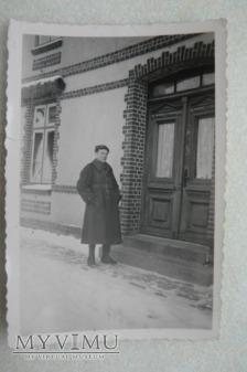 Zdjęcie żołnierza polskiego w niewoli