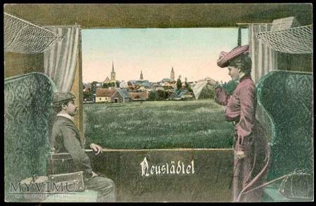 Pozdrowienia z Nowego Miasteczka - 1909 r.