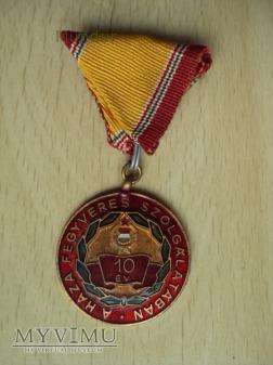Medal: A haza fegyveres szolgálatában 10 év
