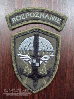 Emblemat ROZPOZNANIE na mundur polowy
