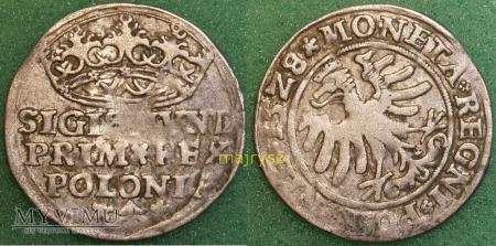 1528, Grosz koronny (skrętka)
