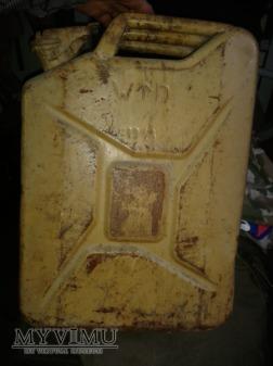 Kanister 20 L Wielka brytania oryginalne piaskowe