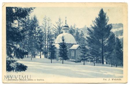 Krynica - Park - kaplica - 1918/1939