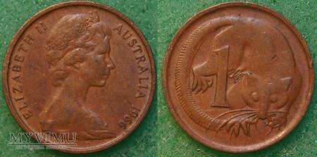 Australia, 1 cent 1966