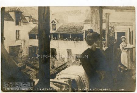 Girardot - L'Hotel du Sauvage a Rosoy-en-Brie 1901