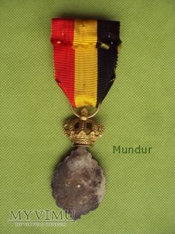"""Medal belgijski """"Habilete Moralite"""" 1 klasy"""