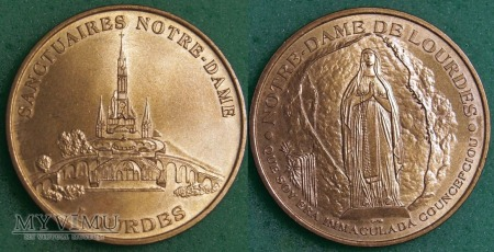 Medal LOURDES