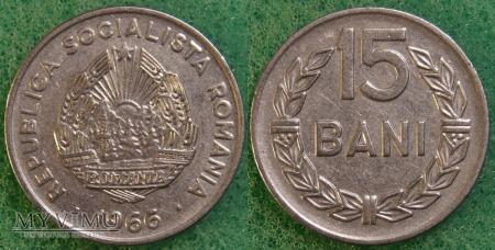Rumunia, 15 Bani 1966