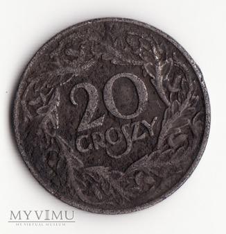 20 groszy 1923 II Rzeczpospolita (II RP)