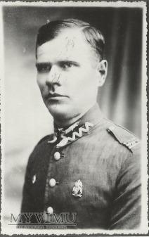 Plutonowy Romuald Mikołajewski z 25 Pułku Ułanow