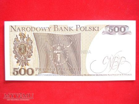 500 złotych 1974 rok