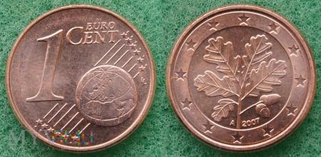 1 EURO CENT 2007 A
