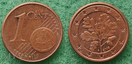 1 EURO CENT 2009 A