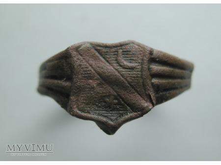 PIERŚCIONEK 015 (lub sygnecik) - z herbem