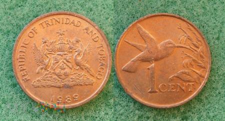 Trynidad i Tobago, 1 CENT 1989