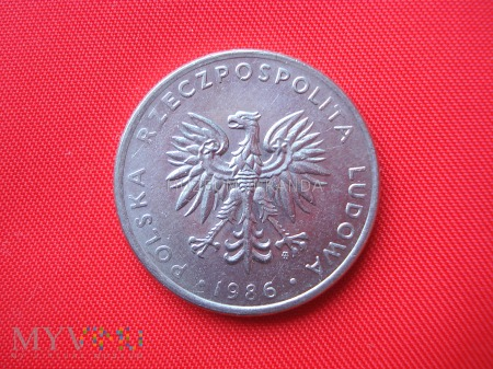 20 złotych 1986 rok