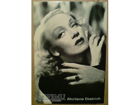 Duże zdjęcie Marlene Dietrich MARLENA foto pocztówka