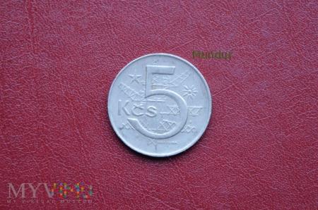Moneta czechosłowacka: 5 Kčs