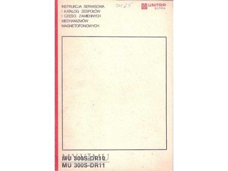 Instrukcja serwisowa mechanizmów magnetofonowych