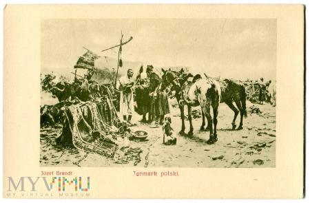 Duże zdjęcie Jarmark Polski, Józef Brandt, c. 1910