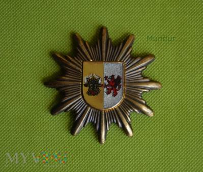 Gwiazda na czapkę Polizei Mecklenburg-Vorpommern