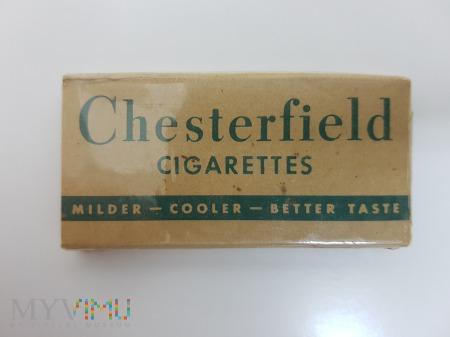 Papierosy Chesterfield USA z lat 40 tych.