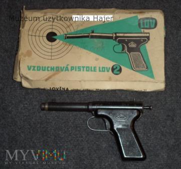 Lov 2 4,5 mm - wiatrówka pistolet metalowy