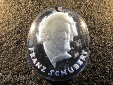Szklane medaliony-KWHW Franz Schubert