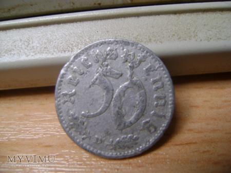 50 pfennigów 1935 D