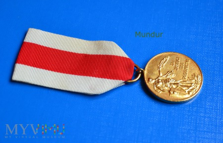 Medal złoty