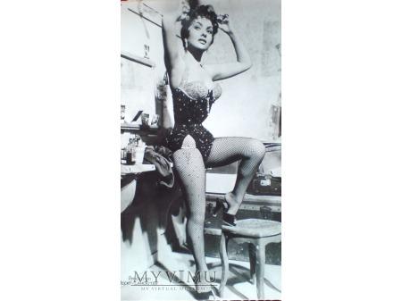 Gina Lollobrigida - pocztówka lata 50-te Vintage