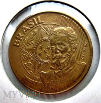 25 centavos 2003 r. Brazylia