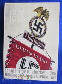 Reichsparteitag-Weimar 3,4,5 Juli 1936