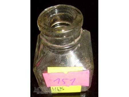 Stary szklany kałamarz