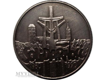 Solidarność, 10 000 Złotych, 1990 rok.