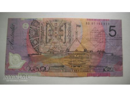 5 DOLLARS - Australia (1996 ?)