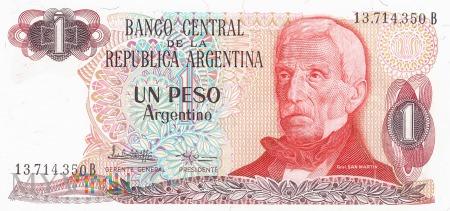 Argentyna - 1 peso (1984)